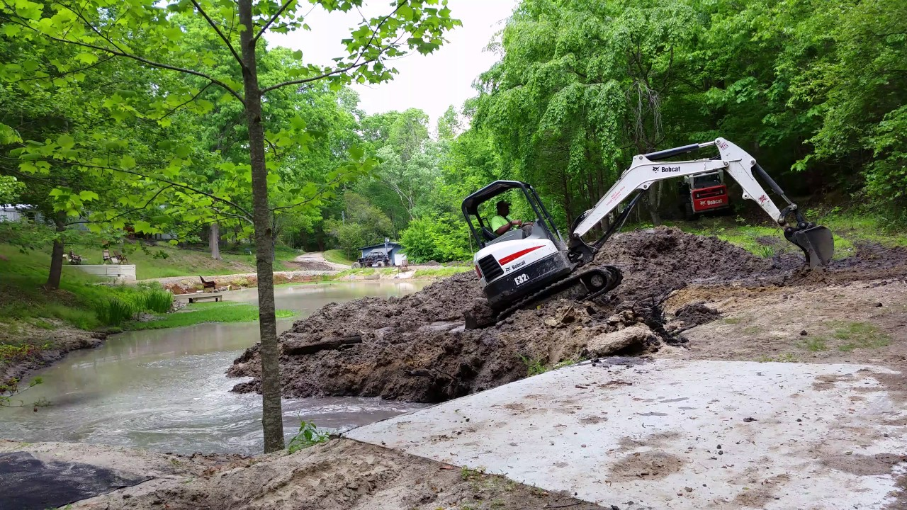 excavating services conducted by bulletproof landworks llc