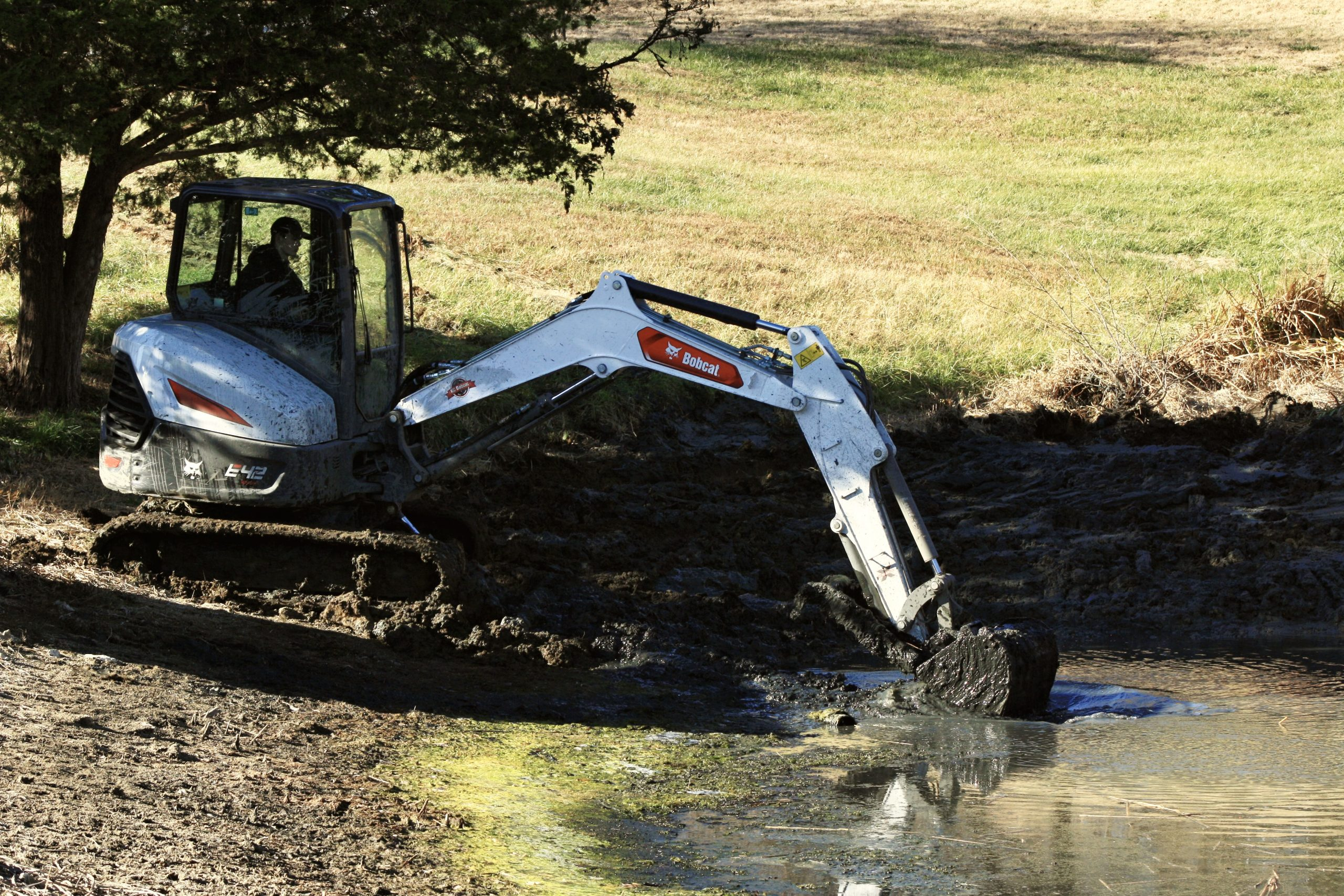 Pond Dredging Land Management Bulletproof Landworks